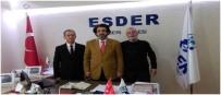 ACıMASıZ - ESDER Genel Başkanı Kayseri Şubesini Ziyaret Etti