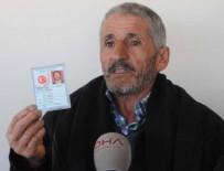 KİMLİK NUMARASI - Gaziantep'te bir adamın nüfus cüzdanında doğum yeri hanesinde 'yok' yazıyor