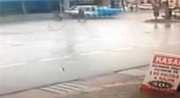 MOBESE - 'Geliyorum' Diyen Kaza Güvenlik Kamerasında
