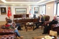 GİRESUN VALİSİ - Giresun Valisi Hasan Karahan Melikgazi İletişim Merkezinde