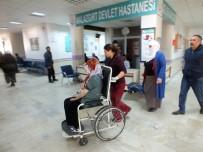 Hamile Kadın 24 Saatlik Çalışmayla Kurtarıldı