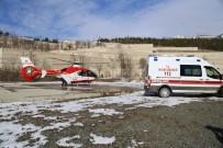 HAMİLE KADIN - Hava Ambulansı Hamile Kadın İçin Havalandı