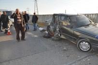 E5 KARAYOLU - Kaçarken Kaza Yapan Hırsızlık Zanlıları Yakalandı