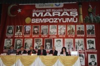 Kahramanmaraş'ta 'Uluslararası Milli Mücadele Döneminde Maraş Sempozyumu'