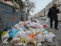 GREV - İzmir Karabağlar'da çöpler toplanmıyor