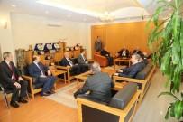 İSMAİL YILMAZ - Müsteşar Ahmet Erdem'den Vali Kamçı'ya Ziyaret