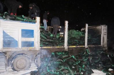 Nusaybin'de 73 Bin Paket Kaçak Sigara Ele Geçirildi