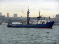 SALACAK - Boğazın Altından Geçecek Yaya Yolu İçin Araştırma Gemileri Keşif Yaptı