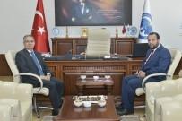 SÜLEYMAN TAPSıZ - Vali Tapsız'dan Rektör Akgül'e İade-İ Ziyaret