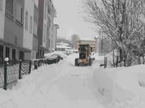 MEHMET NURİ ÇETİN - Varto'da Kar Temizleme Çalışması