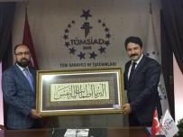 KıRKA - Başkan Kalın'dan TÜMSİAD'a Hayırlı Olsun Ziyareti