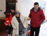 Böbrek Ve Kalp Hastasını Kar Ambulansı İle Kurtardılar