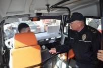 KURAL İHLALİ - Bozüyük Polisinin Halk Dolmuşlarına Yönelik Sivil Denetimi Başladı
