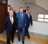 SEL FELAKETİ - Cumhurbaşkanı Erdoğan, Başkan Kocamaz'ı Ziyaret Ette