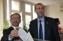 KAZıM ARSLAN - Denizli Gazeteciler Cemiyeti Başkanlığına Osman Nuri Boyacı Seçildi