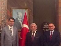 PARİS BÜYÜKELÇİSİ - Erzurum Barosu Genel Sekreteri Şenpolat,  Paris Büyükelçisini Ziyaret Etti