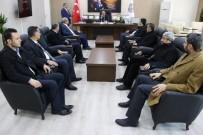İSMAIL GÜNEŞ - Haliliye Belediye Başkanı Demirkol'dan Bozova Ziyareti