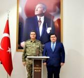 Jandarma Genel Komutan Yardımcısı Korgeneral İbrahim Yaşar, Erzincan Valiliğini Ziyaret Etti