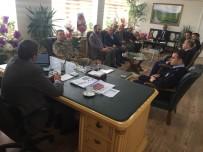 ENVER ÖZDERİN - Kaymakam Özderin, Başkanlığında İlçe Koordinasyon Toplantısı Yapıldı