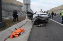 FARABI - Osman Gazi Köprüsü'nde Trafik Kazası Açıklaması 1 Ölü, 4 Yaralı