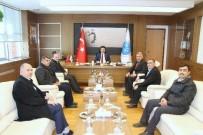 MUSTAFA DOĞAN - Rektör  Prof. Dr. Mustafa Doğan Karacoşkun'a Hayırlı Olsun Ziyaretleri Sürüyor