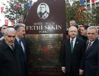 EMNİYET TEŞKİLATI - Şehit Polis Fethi Sekin Parkı açıldı