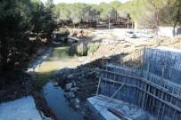 TARİHİ YARIMADA - Sel Sularıyla Yıkılan Şehitlik Yolunun Yapımına Başlandı