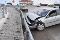 Sinop'ta Maddi Hasarlı Kaza