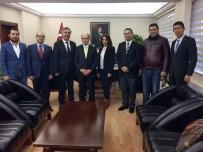 TAHSIN KURTBEYOĞLU - SÖGİAD'ın Yeni Yönetiminden Kaymakam Kurtbeyoğlu'na Ziyaret