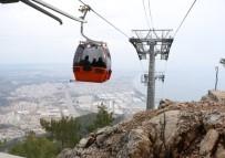 TELEFERIK - Türkiye'nin En Ucuz Teleferiği Antalya'da Hizmete Açıldı