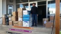 KıZıLAĞAÇ - Bodrum'dan Türkmenlere Yardım Eli