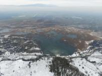 Efteni Gölü'nün Eşsiz Güzelliği Havadan Görüntülendi
