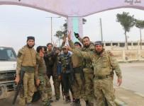 ÖZGÜR SURİYE - El Bab'taki Stratejik Köy DEAŞ'tan Alındı