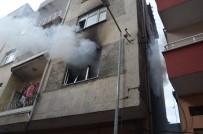 Fatsa'da Daire Yangını