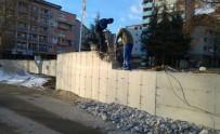 YIKIM ÇALIŞMALARI - O duvar yıkılıyor