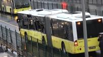SERVİS ARACI - İstanbul'da Metrobüs Kazası Açıklaması 7 Yaralı