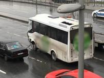 SERVİS ARACI - Küçükçekmece'de Metrobüs Kazası Açıklaması 7 Yaralı