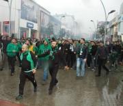 SAKARYASPOR - Tatangalar'dan Afjet Afyonspor Maçı Öncesi Görkemli Yürüyüş