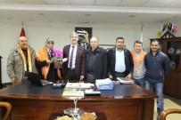 Yörük Türkmenleri'nin İlk Ziyareti Başkan Şirin'e
