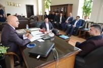 ABDULLAH ÇELIK - Ak Parti Yakutiye Gençlik Kolları'ndan Başkan Korkut'a Ziyaret