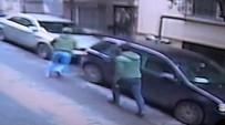 BIÇAKLI KAVGA - Cihangir'de Silahlı Kavga Kamerada