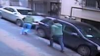 BIÇAKLI KAVGA - Cihangir'deki Silahlı Kavga Kamerada