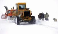 HAVA SICAKLIKLARI - Doğu Anadolu'da Ulaşıma Kar Ve Tipi Engeli