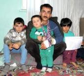 ŞEKER HASTASı - Eşi Tarafından Terk Edilen Ve 3 Çocuğuyla Ortada Kalan Gözü Yaşlı Baba Yardım Bekliyor