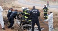 KURTARMA EKİBİ - Takla atan otomobilde 3 kişi yanarak can verdi!
