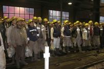 TÜRKİYE TAŞKÖMÜRÜ KURUMU - GMİS Yönetimi Kozlu'da Madenciyi Bilgilendirdi