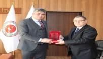 OSMAN BÖLÜKBAŞI - Gümrük Ve Ticaret Bölge Müdürü Dara, Doğubayazıt Cumhuriyet Başsavcısı Yılmaz'ı Ziyaret Etti