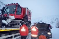 Kar Yüzünden Mahsur Kalan Hasta 8 Saatlik Operasyonla Kurtarıldı
