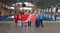 SU SPORLARI - Malatya Yüzme Karması Van'dan Dereceyle Döndü