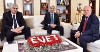 CENGİZ YAVİLİOĞLU - Maliye Bakan Yardımcısı Yavilioğlu, Başkan Sekmen'i Ziyaret Etti